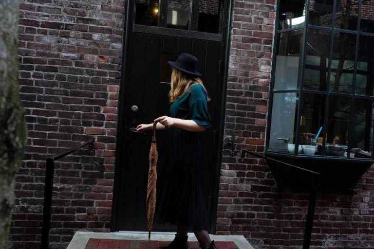 Elisa Downing Young Adult Author Door and Umbrella